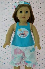 """Doll Clothes 18"""" American Girl~Our Generation~Journey PATTERN PANTS~TOP~HEADBAND"""