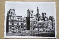 TOURIST PHOTOGRAPH (8.8x6.2 cm)- L'HOTEL DE VILLE, PARIS FRANCE