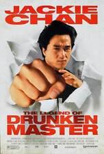 THE LEGEND OF DRUNKEN MASTER Movie POSTER 27x40 C Jackie Chan Anita Mui Ti Lung