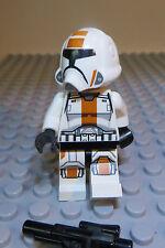 REAL LEGO,STAR WARS FIG, REPUBLIC TROOPER, OLD REPUBLIC WARRIOR  Lot 122