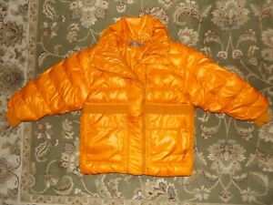 Stella McCartney Adidas Orange Puffer Jacket Size Medium
