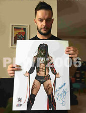 WWE FINN BALOR HAND SIGNED AUTOGRAPHED 16X20 PHOTOFILE PHOTO WITH PROOF & COA 6