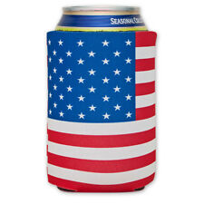 American Flag Can Cooler Hugger Fourth Of July United States OfAmerica 4th Gift