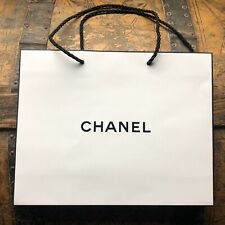 Chanel Empty Small Classic White Paper Shopping Bag