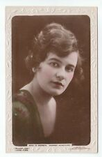 Miss Violet Hopson (Died 1973) British Broadwest Picture Player 1920s Real Photo