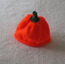 Hand knitted Halloween Pumpkin Hat 6 to 12 months