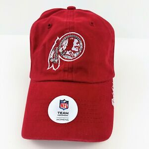 Washington Redskins NFL Team Apparel Women's Relaxed Slouch Hat Cap Adjustable