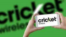 Unlock Code for CRICKET LG Samsung HTC MOTOROLA NOKIA ICON ZTE ALCATEL IPHONE