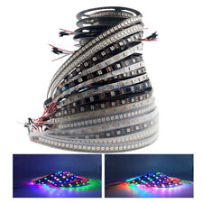 WS2812B 5050 RGB LED Strip 30/60/144LEDs/M Individual Addressable IC DC5V