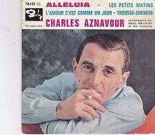 Charles Aznavour-Alleluia vinyl single EP