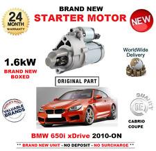 Per BMW 650 i xDrive 2010 -- sul motore di avviamento 1.6kW F12 F13 COUPE CONVERTIBILE
