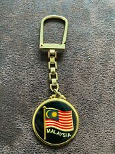 Porte-clé - MALAYSIE - drapeau - BE