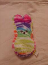 "Peeps Rainbow Plush Bunny 6"""
