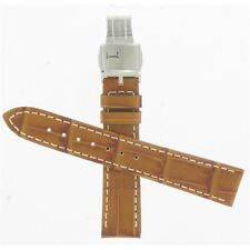 Hamilton 18mm Brown Leather American Classic JazzMaster Watch Band H600324106