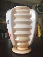 Vase Design Muller Freres Luneville