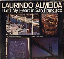 "LAURINDO ALMEIDA ""I LEFT MY HEART IN SAN FRANCISCO""  BOSSA NOVA POP JAZZ LP"
