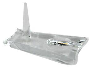 Oleg Cassini Ringhalter mit Ablage Glas Kristall K9