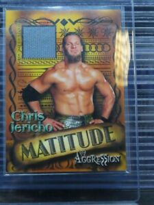 2003 Fleer Aggression Chris Jericho Mattitude Event Used Matt Relic M88