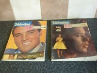 VINTAGE VALENTINE POP SPECIAL No.5 & No.6 BOOKS 1962 & 1963 VG FOR AGE