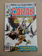 Conan The Barbarian 75 . Marvel 1977 . FN +
