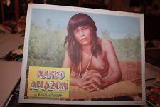 Vintge Movie Lobby Card 1955 Naked Amazon US Release very rare