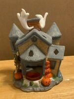 Partylite - Tealight House Collection - Halloween Haunted House P7311 GUC
