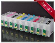 Rihac Refillable Cartridge set for Epson R3000 157 T157120-T157920 Cartridges