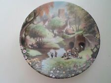 PICNIC BY THE RIVER Plate Robert Hersey Coalport China Tale of a Country Village