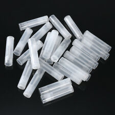 25pcs Lip Balm Tubes Practical Empty Lip Balm Containers Lipstick Tube with Caps