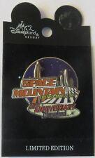 Disneyland Tomorrowland Pin Space Mountain 25th Anniversary 2002 Le 1500