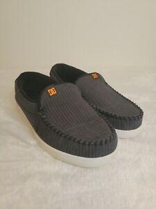 DC Villain Skate Shoe Comfort Athletic Slip-On Sneakers Walking Size 12