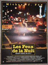 Affiche LES FEUX DE LA NUIT Bright Lights Big city MICHAEL J. FOX 40x60cm
