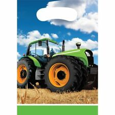 John Deere Tractor Birthday Party Favor Bags; Tractor Loot Bags; Fun To be One