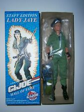 """GI Joe 1997 12"""" Lady Jaye Convention Exclusive Staff Edition Limited 100 pieces"""