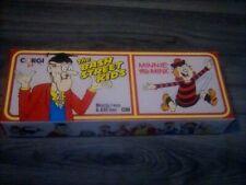"Corgi D47/1 Morris J Van  ""Minnie The Minx""& AEC Bus ""Bash Street Kids"" +box"