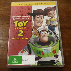 Toy Story 2 Special Edition Disney Pixar DVD R4 Like New! FREE POST