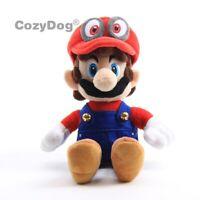 Super Mario Odyssey Cappy Hat Mario Plush Toy Stuffed Animal Doll Figure GIFT