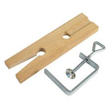V Slot Bench Pin & Clamp Jewellers Bench Vice Holding Tool Polishing Sawing