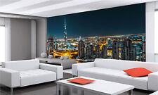 Photo Wallpaper Fantastic View of Dubai GIANT WALL DECOR PAPER POSTER FREE PASTE
