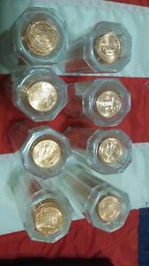 Set of All Eight 2009 P & D Lincoln Bicentennial Cents from ANACS MS65+ RD Rolls