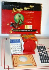 Vintage Bingo-matic Game by Transogram 1954 in Original Box