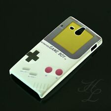 Sony xperia u/st25i Hard Case Housse de protection motif étui Nintendo Gameboy Cover