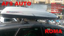 BOX AUTO G3 KRONO 480 LT OMOLOGATO+BARRE PORTATUTTO SPECIFICHE OPEL MERIVA 2016