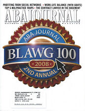 2 Law Publications: ABA Journal: The Lawyer's Magazine & Harvard Law Bulletin