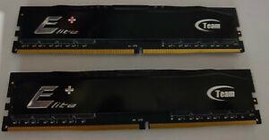 Team Elite+ 2x 4GB DDR4 2400 CL 16-16-16-39 1.2v (8GB Total)