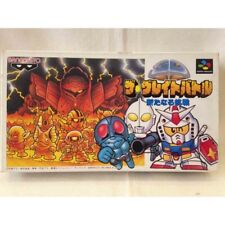 SD Gundam Great Battle Nintendo Super Famicom SFC