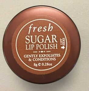 New Fresh Sugar Lip Polish/Scrub Travel Size .28 oz/8g (exfoliates/conditions)