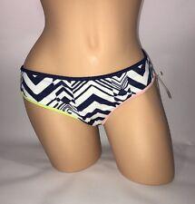 Victoria's Secret Classic Hipster Bikini Bottom Ink Blot Geo NWT size XS S