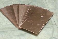 "Copper heat sink square 2"" x 4"" 22 gage qty 2 welding tig  jewellery scrapbook"