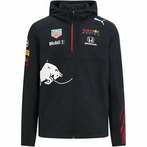 Red Bull Racing F1 Men's 2021 Team Hooded Sweatshirt- Navy